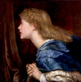 Ellen Terry, by George Frederic Watts, circa 1864-1865 - NPG 2274 - © National Portrait Gallery, London
