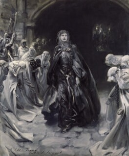 Ellen Terry as Lady Macbeth, replica by John Singer Sargent, 1906, based on a work of 1889 - NPG 2273 - © National Portrait Gallery, London