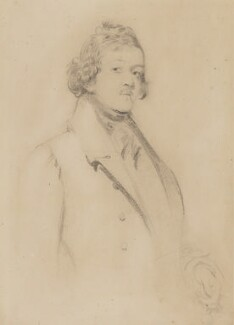 William Makepeace Thackeray, by Daniel Maclise, circa 1840 - NPG 4209 - © National Portrait Gallery, London