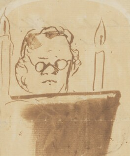 William Makepeace Thackeray, by Edwin Landseer - NPG 3925