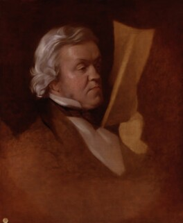 William Makepeace Thackeray, by Samuel Laurence, circa 1864, based on a work of 1862 - NPG 725 - © National Portrait Gallery, London