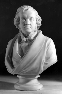 William Makepeace Thackeray, by Nevill Northey Burnard - NPG 738