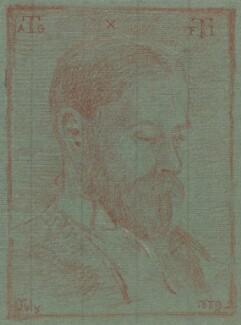 Arthur Goring Thomas, by Francis Inigo Thomas - NPG 1316