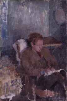 Dylan Thomas, by Rupert Shephard - NPG 4284