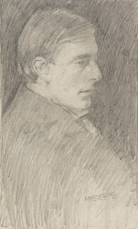 Edward Thomas, by Ernest Henry Thomas - NPG 2892