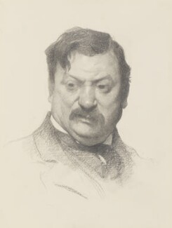 James Havard Thomas, by James Kerr-Lawson - NPG 2115
