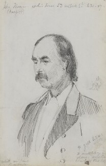 John Thomas, by Sydney Prior Hall - NPG 2380
