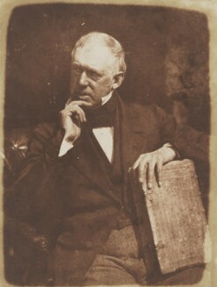 Alexander Thomson, by David Octavius Hill, and  Robert Adamson - NPG P6(68)