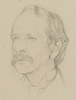 Sir Joseph John Thomson, by William Rothenstein - NPG 4796