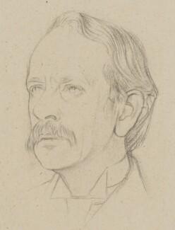 Sir Joseph John Thomson, by Sir William Rothenstein, 1915 - NPG 4796 - © National Portrait Gallery, London