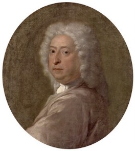 Sir James Thornhill, attributed to Dietrich Ernst Andreae, circa 1724-1726 - NPG 4688 - © National Portrait Gallery, London
