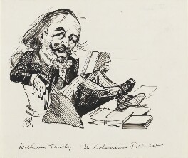 William Tinsley, by Harry Furniss - NPG 3524