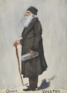Count Leo Tolstoy, by 'Snapp', published in Vanity Fair 24 October 1901 - NPG  - © National Portrait Gallery, London