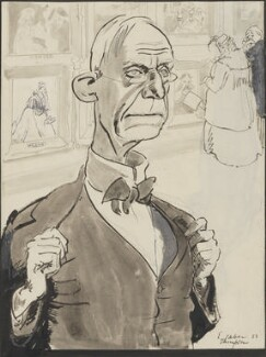 Henry Tonks, by Ernest Heber Thompson - NPG 5089