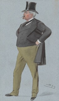 Arthur Loftus Tottenham, by Sir Leslie Ward - NPG 4748