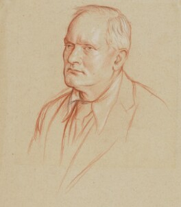 Sir Donald Tovey, by William Rothenstein - NPG 5277