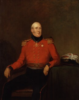 Sir Horatio George Powys Townshend, by William Salter - NPG 3761