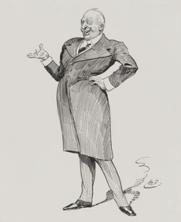 Sir Herbert Beerbohm Tree, by Harry Furniss - NPG 4095(11)