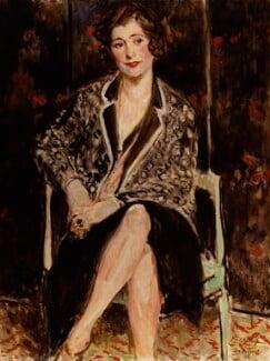 Violet Trefusis (née Keppel), by Jacques-Emile Blanche, 1926 - NPG  - © National Portrait Gallery, London