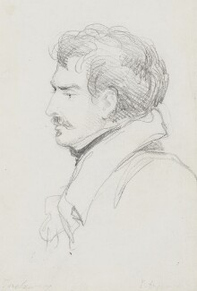 Edward John Trelawny, by Bryan Edward Duppa - NPG 2882