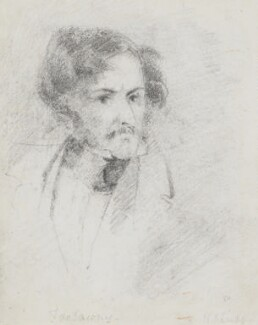 Edward John Trelawny, by Bryan Edward Duppa - NPG 2883