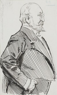 Sir William Purdie Treloar, Bt, by Harry Furniss - NPG 3613