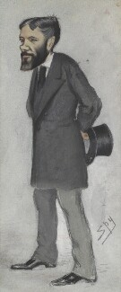 Sir George Otto Trevelyan, 2nd Bt, by Sir Leslie Ward - NPG 2743