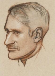 George Macaulay Trevelyan, by William Rothenstein - NPG 4286