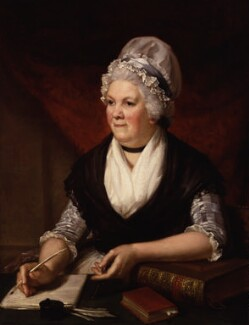 Sarah Trimmer, by Henry Howard - NPG 796