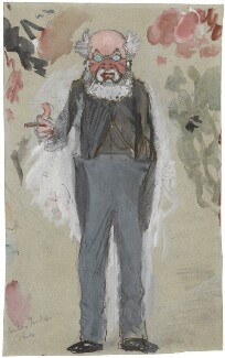 Anthony Trollope, by Sir Leslie Ward, study for drawing published in Vanity Fair 5 April 1873 - NPG  - © National Portrait Gallery, London