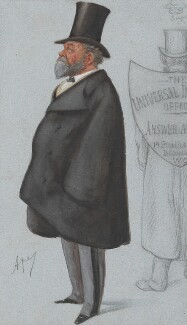 Charles Robert Claude Wilde, 2nd Baron Truro, by Carlo Pellegrini, published in Vanity Fair 1 January 1887 - NPG 4749 - © National Portrait Gallery, London