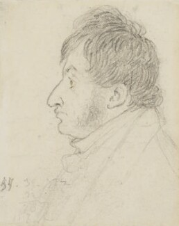 Joseph Mallord William Turner, by Charles Robert Leslie, 1816 - NPG 4084 - © National Portrait Gallery, London