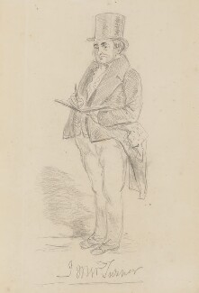 Joseph Mallord William Turner, by Charles Martin - NPG 1483