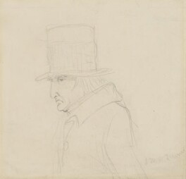 J.M.W. Turner, by Charles Hutton Lear - NPG 1456(25)