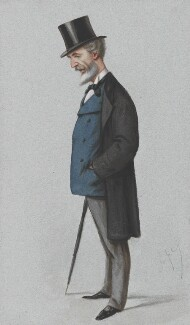 William Montagu Hay, 10th Marquess of Tweeddale, by Carlo Pellegrini - NPG 4750