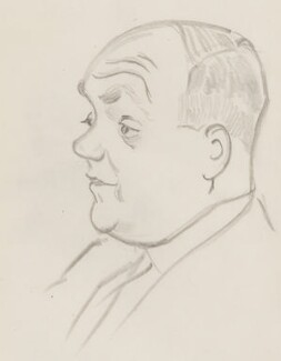 Donald Tyerman, by Sir David Low - NPG 4529(371)