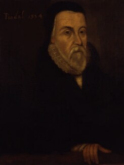 Unknown man, formerly known as William Tyndale, by Unknown artist - NPG 3180
