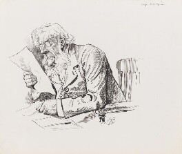 John Tyndall, by Harry Furniss - NPG 3530