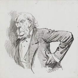 John Tyndall, by Harry Furniss - NPG 3614