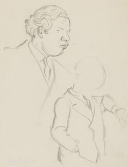 Peter Ustinov, by Sir David Low - NPG 4529(373)