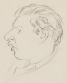 Peter Ustinov, by Sir David Low - NPG 4529(376)