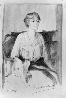 Irene Vanbrugh, by Flora Lion - NPG 4102