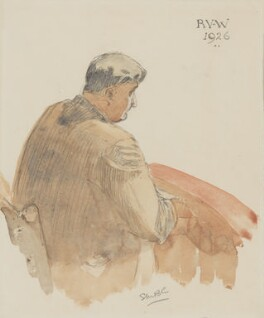 Ralph Vaughan Williams, by Sibella Bonham-Carter - NPG 5022
