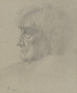 Ralph Vaughan Williams, by Joy Finzi (Joyce Amy) - NPG 4086