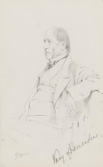 George Charles Mostyn, 6th Baron Vaux of Harrowden, by Frederick Sargent - NPG 1834(ff)