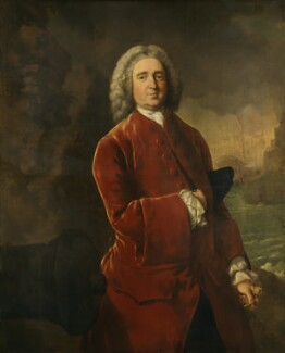 Edward Vernon, by Thomas Gainsborough, circa 1753 - NPG 881 - © National Portrait Gallery, London