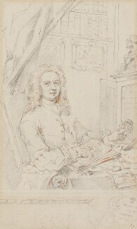 George Vertue, by George Vertue, 1741 - NPG 4876 - © National Portrait Gallery, London