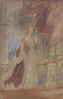 Queen Victoria, by Sir David Wilkie, circa 1840 - NPG 1297 - © National Portrait Gallery, London