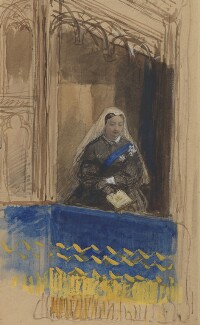 Queen Victoria, by George Housman Thomas - NPG 2954