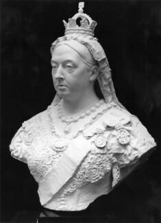 Queen Victoria, by Sir Joseph Edgar Boehm, 1st Bt - NPG 858